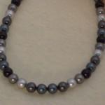 Swarovski Crystal Pearls In Black, Gray and Tahitian