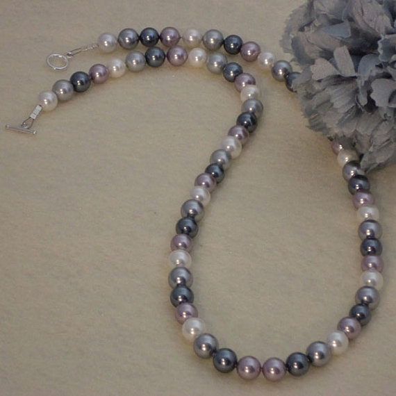 Mixture Of Colors For Shell Pearl Necklace