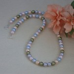 Swarovski Crystal Pearl Necklace In A Variety Of Colors