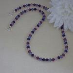Swarovski Crystal Bicone Necklace With Fantastic Colors