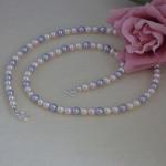 Dainty Swarovski Crystal Pearl Necklace