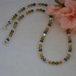 Swarovski Crystal Necklace In A Mixture Of Unique Colors