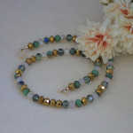 Mixture Of Colors For Crystal Rondelle Beaded Necklace