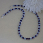 Unusual Color Combination For Swarovski Crystal Necklace