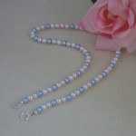 Enchanting Colors For Swarovski Crystal Pearl Necklace