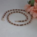 Stylish Swarovski Crystal Beaded Necklace