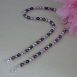 Swarovski Crystal Pearl Necklace In A Combination of Incredible Colors