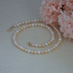 Alluring Colors For Shell Pearl Necklace