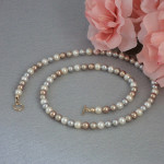 Swarovski Timeless Crystal Pearl Necklace