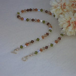 Mixture Of Colors For Swarovski Crystal Beaded Necklace